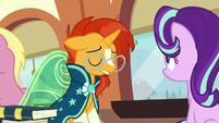 Sunburst sighing heavily S8E8