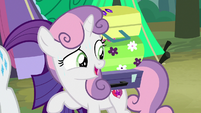 Sweetie Belle -you only packed three suitcases- S7E16
