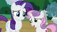 Sweetie Belle proud to be Rarity's sister S7E6