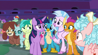 Young Six sticking up for Twilight S8E26