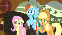 """Applejack """"just hear us out"""" S8E18"""