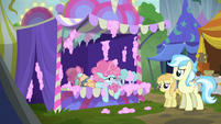 Cotton candy pony exhausted S6E7