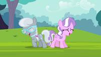 Diamond Tiara and Silver Spoon laughing S4E15