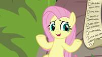 Fluttershy apologizes to other animals S9E18