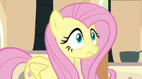 Fluttershy hears a chirping sound S6E11