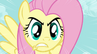Fluttershy unleashes the Stare S03E10