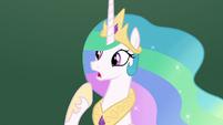 "Princess Celestia ""I don't see anything"" S8E7"