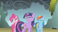 """Rainbow Dash """"so much for persuading him"""" S1E07"""