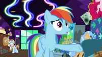 Rainbow Dash -this place is huge!- S8E5
