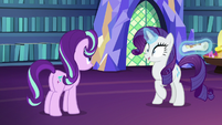 Rarity understand Starlight's orders now S6E21