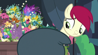 Rose unable to see Rarity's mane S7E19