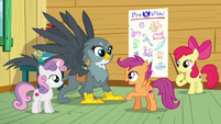 Scootaloo --nopony gets a mark without one-- S6E19