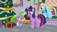 Spike -that new bowtie I wanted- S8E16