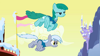 Sprinkle Medley and Derpy re-colour fly by S1E11