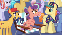 Stubborn Crystal Pony --I can't wait to see that!-- S6E2