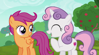 "Sweetie Belle ""the race is the best part!"" S6E14"