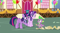 Twilight Sparkle -you've got this, Spike!- S7E15