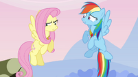 """Fluttershy the """"silly, gullible fool"""" S03E10"""