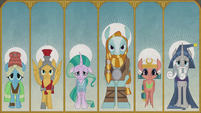Illustrations of the Pillars of Old Equestria S7E25