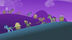 Ponies working in the fields at nighttime S01E11.png