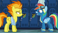 """Rainbow submissive """"yes, ma'am"""" S6E7"""