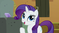 "Rarity ""one's a lovely purple"" S7E2"