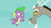 """Spike """"then you also must've heard"""" S8E15"""