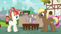 """Spike """"you two should sit together"""" S7E15"""