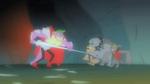 Spike corners the Diamond Dogs S1E19