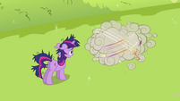Twilight Sparkle looking at CMC fighting 2 S2E03