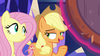 "Applejack ""why the Map called us"" S8E23"