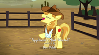 Braeburn cheering for Applejack S5E6