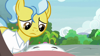 Dr. Fauna taking care of Fluttershy S9E18