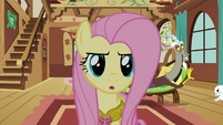 Fluttershy 'Being kind to him' S3E10