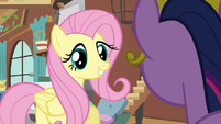 """Fluttershy optimistic """"I actually know what to do"""" S03E10"""