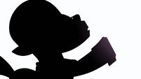 Hoity Toity silhouette S1E14