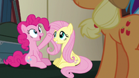 """Pinkie Pie relieved """"why didn't you say so?"""" S6E18"""