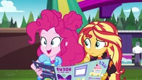 """Pinkie Pie sees a """"secondary objective"""" EGSBP"""