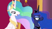 "Princess Celestia ""you might find you need help"" S7E25"