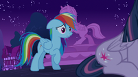 "Rainbow Dash ""may have something to do with"" S6E15"