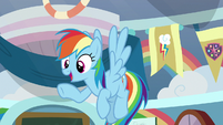 "Rainbow Dash ""when suddenly"" S8E12"