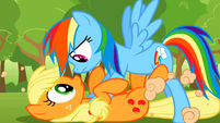 Rainbow Dash back to normal S2E02