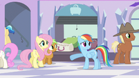 Rainbow Dash there isn't S3E12