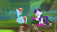 """Rarity """"fly up there and get that amulet!"""" S8E17"""