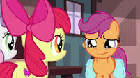 Scootaloo crying tears of happiness S9E12