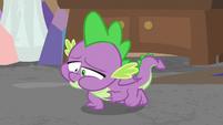 Spike having violent indigestion S8E25