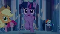 Twilight's friends wake up EG