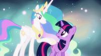 """Twilight and Celestia """"taught you well"""" S03E13"""