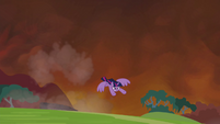 Twilight flies away S4E26