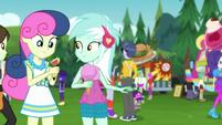 Bon Bon and Lyra at the music festival CYOE14